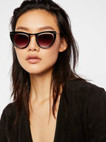 Free People Outer Urge Cat Eye Sunnies