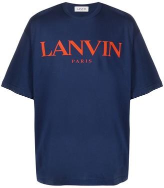 Lanvin logo-print T-shirt