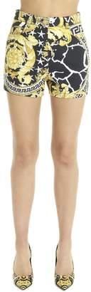 Versace Baroque Mini Shorts