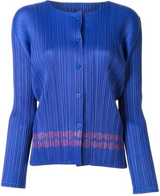 Pleats Please Issey Miyake Plisse Polo Shirt