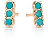 ginette_ny Fallen Sky Turquoise Strip Studs