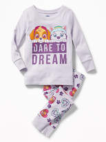 """Old Navy Paw Patrol """"Dare to Dream"""" Sleep Set for Toddler & Baby"""