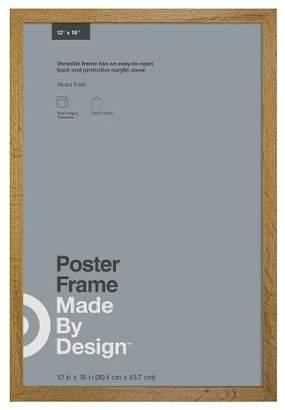 "Made By Design 12"" x 18"" Poster Frame Oak - Made By DesignTM"