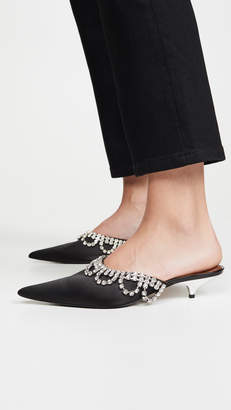 Area Scalloped Crystal A Mules