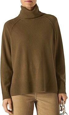 Whistles Cashmere Turtleneck Sweater