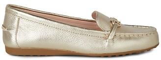 Kate Spade Bergman Metallic Leather Loafers