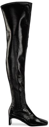 Prada Naplak Square-Toe Tall Boots
