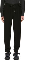McQ by Alexander McQueen Black Tailored Lounge Pants