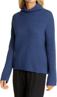 Vince Funnel Neck Wool & Cashmere Blend Sweater