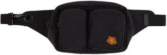 Kenzo Black Tiger Crest Belt Bag