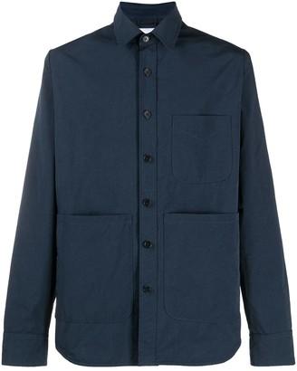 Aspesi Three-Pocket Buttoned Shirt