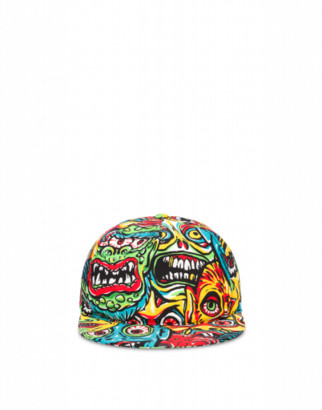 Moschino Monsters Hat Man Multicoloured Size L It