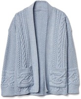 Gap Cable knit kimono cardigan
