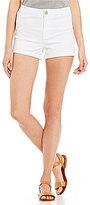 Copper Key Rolled Cuff Denim Shorts