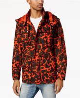 G Star Men's Submarine Camouflage-Print Hooded Jacket