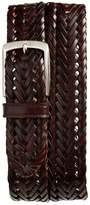 Trafalgar Enzo Braided Leather Belt