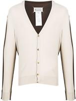 Maison Margiela two-tone lightweight cardigan