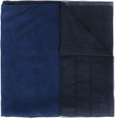 Giorgio Armani embroidered stole - women - Silk/Linen/Flax/Acetate - One Size