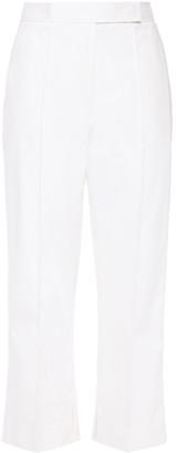 3.1 Phillip Lim Cropped Cotton-blend Straight-leg Pants