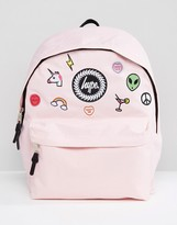 Hype Pink Patches Backpack