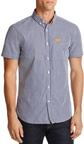 Superdry London Striped Regular Fit Button-Down Shirt