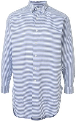 Kent & Curwen Double Collar Long Sleeve Shirt