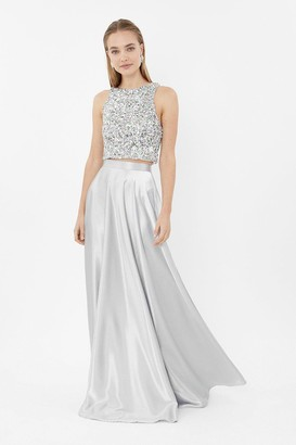 Coast Satin Maxi Skirt