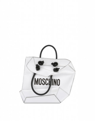 Moschino Shopper Hand Bag Woman White Size U It - (one Size Us)