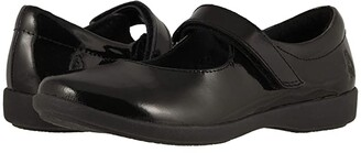 Hush Puppies Kids Lexi (Little Kid/Big Kid) (Black Patent) Girl's Shoes