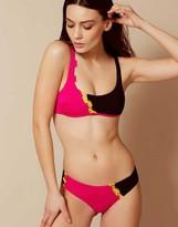 Agent Provocateur Jojo Bikini Bottom Pink And Black