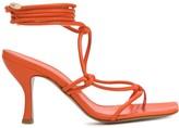 Couture Gia Aimee wrap-around sandals