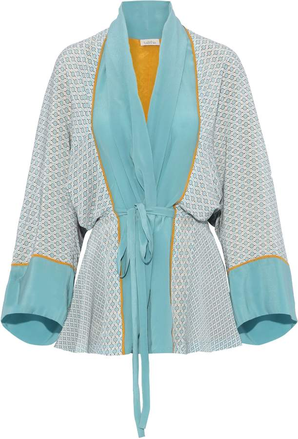 0a87b6d59e7 Printed Silk Kimono Jacket - ShopStyle Canada