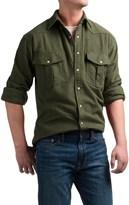 Moose Creek Chamois Western Shirt - Snap Front, Long Sleeve (For Men)