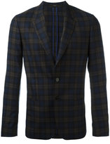 Paul Smith checked blazer jacket - men - Silk/Cupro/Wool - 48