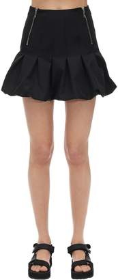 we11done We11 Done Nylon Balloon Mini Skirt