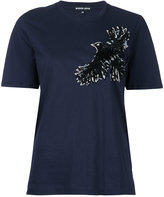 Markus Lupfer sequin bird T-shirt - women - Cotton - XS