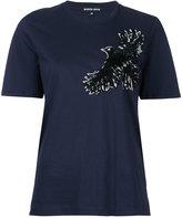 Markus Lupfer sequin bird T-shirt - women - Cotton - XS