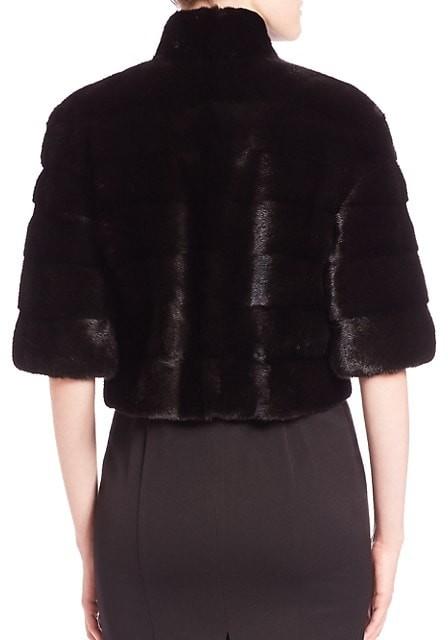 Thumbnail for your product : The Fur Salon Mink Fur Bolero