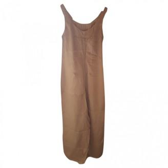 Maison Martin Margiela Pour H&m Beige Synthetic Dresses
