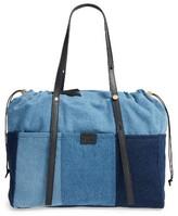 Chloé Infant Girl's Denim Diaper Bag - Blue