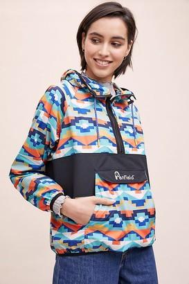 Penfield Geometric-Print Hooded Jacket