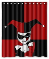 "Shower Curtains Fashionable Bathroom Collection-Custom Harley Quinn Shower Curtain Bath Decor Curtain 60 "" x 72 """