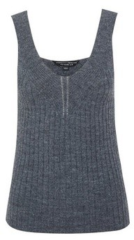 Dorothy Perkins Womens Charcoal Lounge Knitted Camisole Top