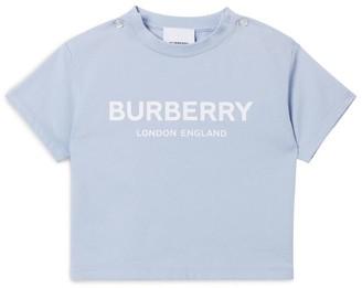 Burberry Kids Cotton Logo T-Shirt (6-24 Months)