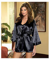 Dreamgirl Robe and Babydoll Set, Lingerie - Women's