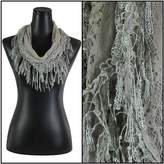 Gabriella's Gifts Victorian Style Infinity Lace Scarf