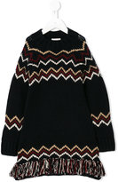 Moncler knitted dress - kids - Cashmere/Wool - 6 yrs
