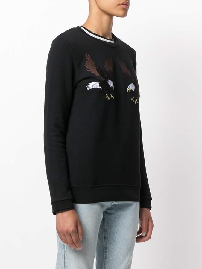 Zoe Karssen eagle patches longsleeved T-shirt