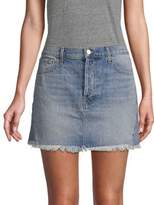 J Brand Bonny Medium Wash Mini Denim Skirt