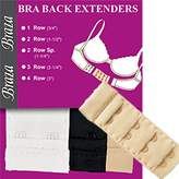 Braza Fabric Extenders 3-Piece Pack Style S5002 - Assorted - 2Hooks